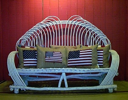:: Loop Couch :: Rustic Patio Furniture U0026 Willow Chairs   Around The Bend Willow  Furniture