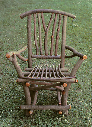Around The Bend Willow Furniture Ladderback Chair Rustic Patio Furniture Amp Willow Chairs